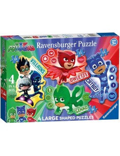 Puzzle 4 in a Box - Pj Mask