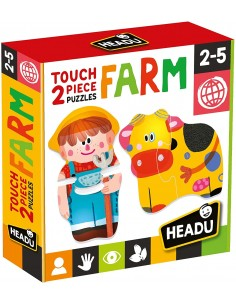 Touch 2 pieces Puzzles Farm