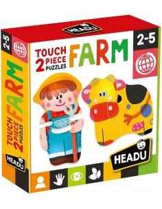 Touch 2 pieces Puzzles Farm