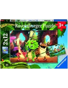 Puzzle GIGANTOSAURUS PUZZLE...