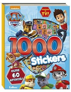 PAW PATROL 1000 STICKERS