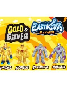ELASTIKORPS LAVA GOLD/SIVER