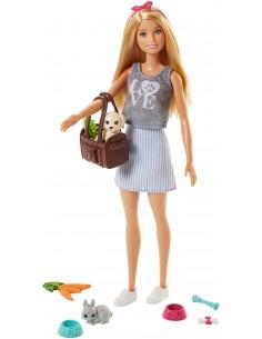 Barbie Doll con Cagnolino