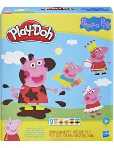 PLAY DOH Peppa Pig Playset
