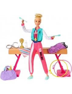 Barbie- Playset Ginnasta