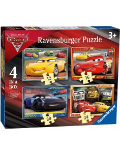 Puzzle 4 in a Box - CARS 3