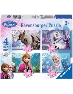 PUZZLE 4 IN A BOX - FROZEN