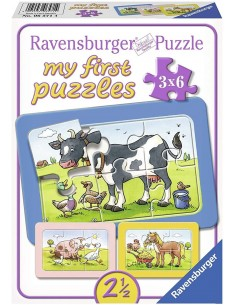 My first puzzle 3x6- teneri...