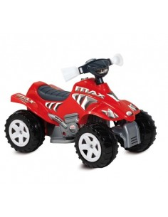 MOTO 4 RUOTE MAX ROSSA 12V