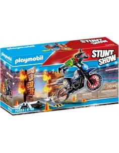 Playmobil - Moto da...