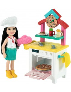 Barbie Chelsea Pizza