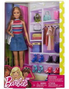 BARBIE STILISTA ARMADIO E...