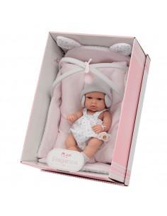 Bebè c/culla 33cm