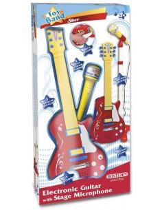 Chitarra Rock con microfono...