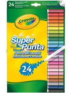COLORI 24 PZ SUPER PUNTA