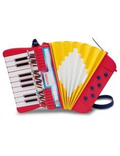 Fisarmonica 17 tasti e 6...