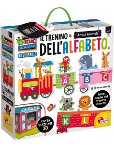 IL TRENINO DELL'ALFABETO 3D...