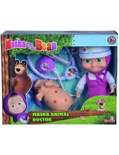 Masha Doll Veterinaria con Pig