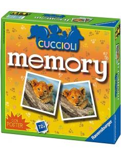 MEMORY DEI CUCCIOLI CON POSTER