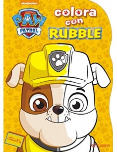 Paw Patrol Colora con - Rubble