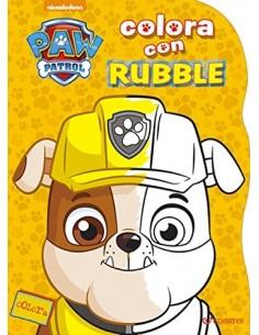 Paw Patrol Colora con - Rubble