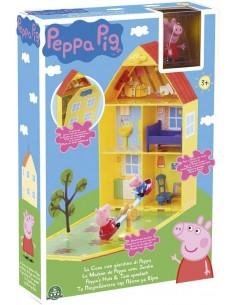 PEPPA PIG CASA C/GIARDINO -...