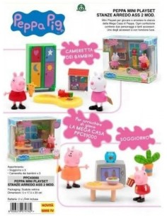 PEPPA PIG STANZE MINI PLAYSET